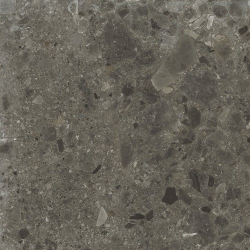 Carrelage anthracite imitation pierre rectifié 60x60cm HANNOVER BLACK -R10- 1.08m²