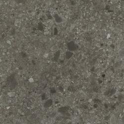 Carrelage anthracite imitation pierre rectifié 80x80cm HANNOVER BLACK NATURAL - 1.28m²