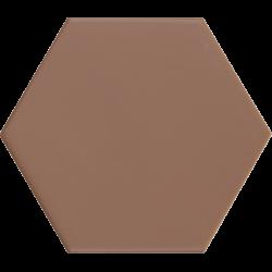 Carrelage hexagonal marron KROMATIKA CLAY R10 11.6x10.1 - 26471 - 0.43 m²