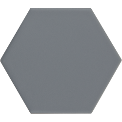Carrelage hexagonal bleu gris KROMATIKA DENIM R10 - 11.6x10.1 - 26463 - 0.43 m²