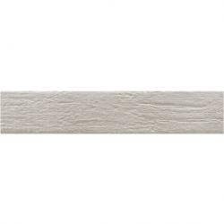 Carrelage NORDIK ALUMINIUM imitation parquet gris clair vintage style chevron 7x36 cm - 1m²