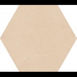 Carrelage grand format HEXAGONO SEINE CREME 51.9x59.9 cm - 0.93 m²