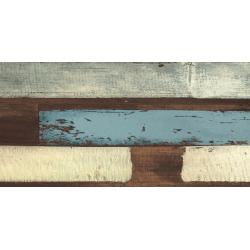 Dalle extérieur imitation bois vieilli multicolor - Karacter vintage SOLID 2CM - 50X100 - R11 - 0.495m²