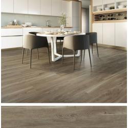 Carrelage imitation parquet rectifié vieilli mat 20x120 BELFAST WALNUT R10 - 0.96 m²