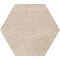 Carrelage tomette 17.5x20 - HEXATILE CEMENT MINK - 22096 R10 - 0.71m²