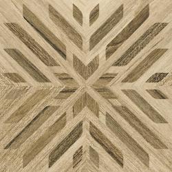 Carrelage aspect bois décoré - KOMI NEGARA-R 20X20 - 1m²