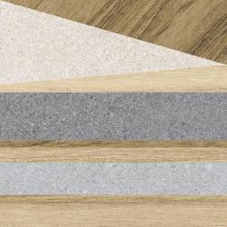 Carrelage aspect bois décoré - KOMI ERANAN-R MIEL 20X20 - 1m²