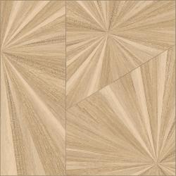 Carreau imitation parquet à effet 80x80 cm Nepli-R Crema - Rectifié -R10- 1.28m²