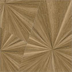 Carreau imitation parquet à effet 80x80 cm Nepli-R Miel - Rectifié -R10- 1.28m²