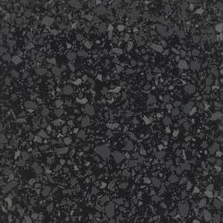 Carrelage imitation terrazzo rectifié 60x60cm MARMETTE NERO - 1.08m²