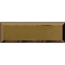 Carrelage Métro doré Or 10x30 cm - unité Ribesalbes