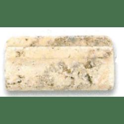 Corniche pierre Travertin TR.TAS 10x5 cm - unité