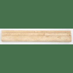 Corniche pierre Travertin Beige 30.5x5 cm - unité