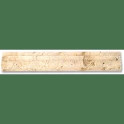 Corniche pierre Travertin TR.TAS 30.5x5 cm - unité