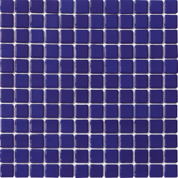 Mosaique piscine Lisa bleu marine obsur 2032 31.6x31.6 cm - 2m²