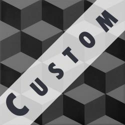 Carreau imitation ciment personnalisable 20x20 cm CUSTOM CUBE R9 - 0.96m²
