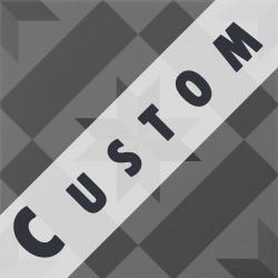 Carreau imitation ciment personnalisable 20x20 cm CUSTOM ÉTOILE R9 - 0.96m²