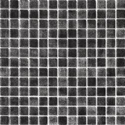 Mosaique piscine nuancée noir antidérapante 3101 31.6x31.6 cm - 1 m²