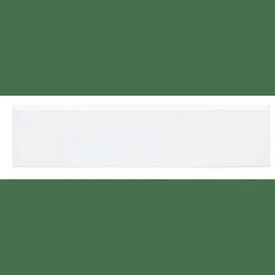 Plinthe intérieur Exacer blanc mat 8x33.3 cm grès cérame - unité