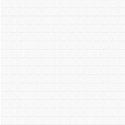 Mosaique piscine Lisa blanc 2001 31.6x31.6 cm - 2 m²