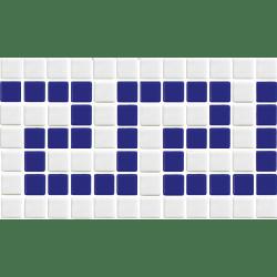 Frise grecque piscine 7004 30x18 cm - unité