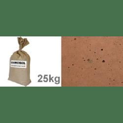 Durcisseur de sol brun foncé - 25kg