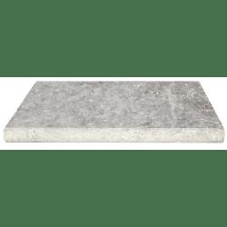 Margelle travertin beige silver 61x33x3cm - unité