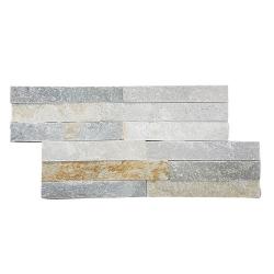 Parement extérieur pierre naturelle Quarzite 38x18 - 0.57m²