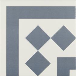 Carrelage d'angle 20x20 cm ANTIGUA AZUL - unité