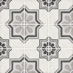 Carrelage style ciment 20x20 cm ART NOUVEAU CAPITOL GREY 24413 - 1m²