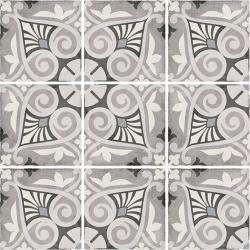 Carrelage style ciment 20x20 cm ART NOUVEAU OPERA GREY 24418 - 1m²