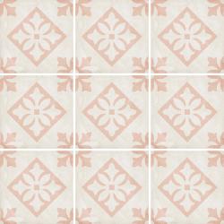 Carrelage style ciment décor rose 20x20 cm ART NOUVEAU PADUA PINK 24407 - 1m²