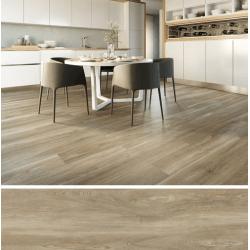 Carrelage imitation parquet rectifié vieilli mat 29.5x120 BELFAST TEAK R10 - 1.06 m² Baldocer