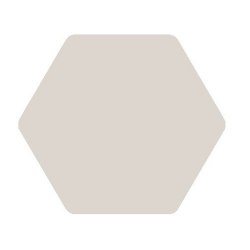 Carrelage tomette blanc 25x29cm TOSCANA BLANCO - 1m²