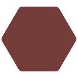 Carrelage tomette bordeaux 25x29cm TOSCANA MORADO- 1m²
