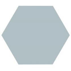 Tomette unie bleue série dandelion MERAKI AGUAMARINA BASE 19.8x22.8 cm - 0.84m²