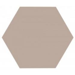 Tomette unie grise série dandelion MERAKI GRIS BASE 19.8x22.8 cm - 0.84m²