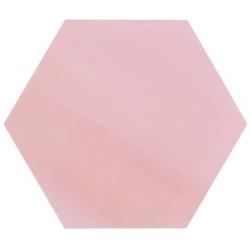 Tomette unie rose série dandelion MERAKI ROSA BASE 19.8x22.8 cm - 0.56m²