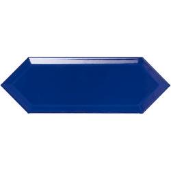 Faience navette biseautée bleue brillant 10x30 PICKET BEVELED SEA - 1m²