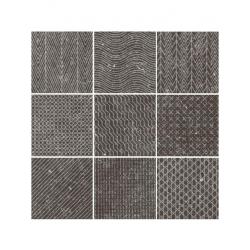Carrelage inspiration granit CORALSTONE GAMUT BLACK 23571 20x20 cm - 1m²