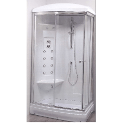Cabine de douche complète Hydrothérapie et Hammam Bonillo