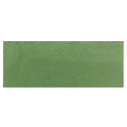 Plinthe de carreau de ciment véritable unie VERT TILLEUL 10x20 cm - 4mL