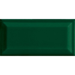Carreau métro grès cérame vert RAME 7,5x15 cm - 1 m²