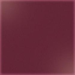 Carrelage uni 20x20 cm amarante brillant GRANATO - 1.4m²