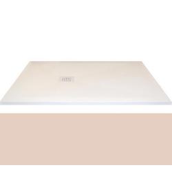 Receveur extra-plat CLASSIC PIZARRA BEIGE - bonde latérale