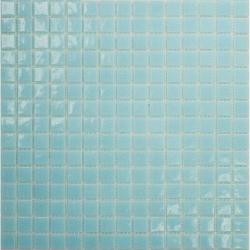 Mosaique piscine Bleu clair A30 20x20mm - 2.14m²