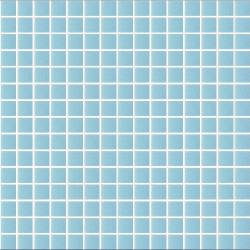 Mosaique piscine Bleu A33 20x20mm - 2.14m²
