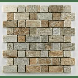 Mosaique quartzite 3x3 - 4.8 cm - unité