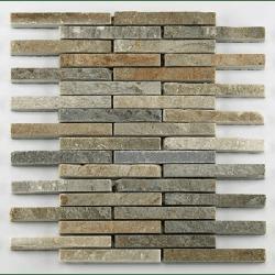Mosaique quartzite 1.5x12.5 cm - unité