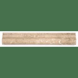 Corniche pierre Travertin Noce 30.5x5 cm - unité